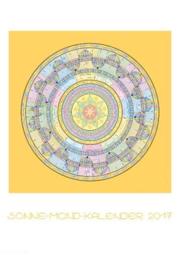 SonneMondKalender 2017 - Poster