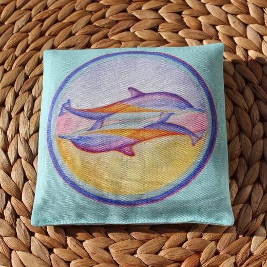 DuftMandala - Delphinpaar