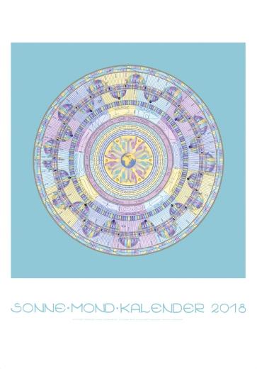SonneMondKalender 2018 - Poster