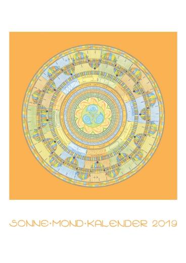 SonneMondKalender 2019 - Postkarte